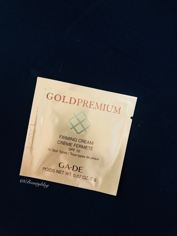 פינת הדוגמית: קרם יום אנטי אייג'ינג למיצוק העור מסדרת גולד פרימיום שלג'ייד