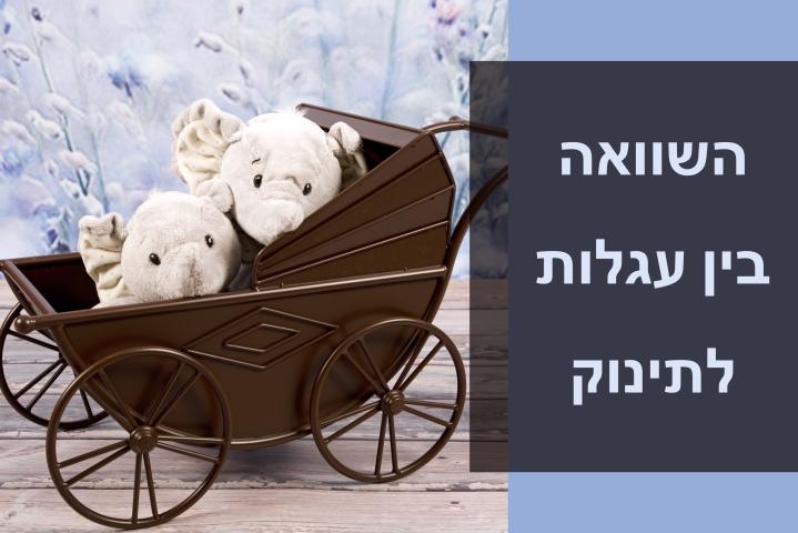 המלצות לבייבי 2019: איך לבחור עגלת תינוק וטבלת השוואה מפורטת בין עגלותמומלצות