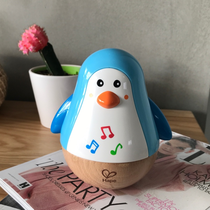 המלצות לבייבי: פינגווין מוזיקלי ״נחום תקום״ שלהייפ