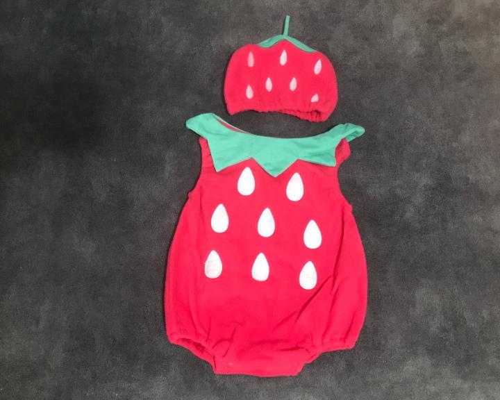 תחפושת מומלצת של תות לילדות מאליאקספרס